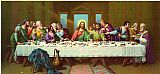 Leonardo da Vinci picture of last supper painting
