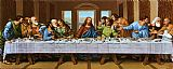 Leonardo da Vinci the picture of last supper painting