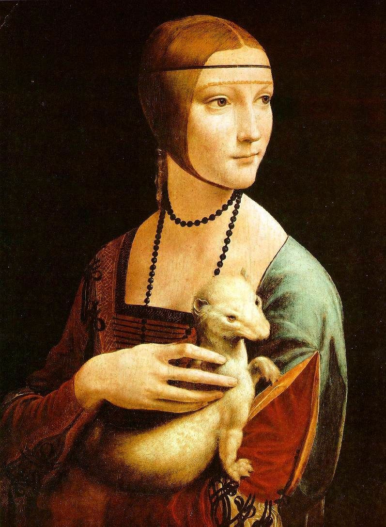 Leonardo da Vinci Lady With An Ermine