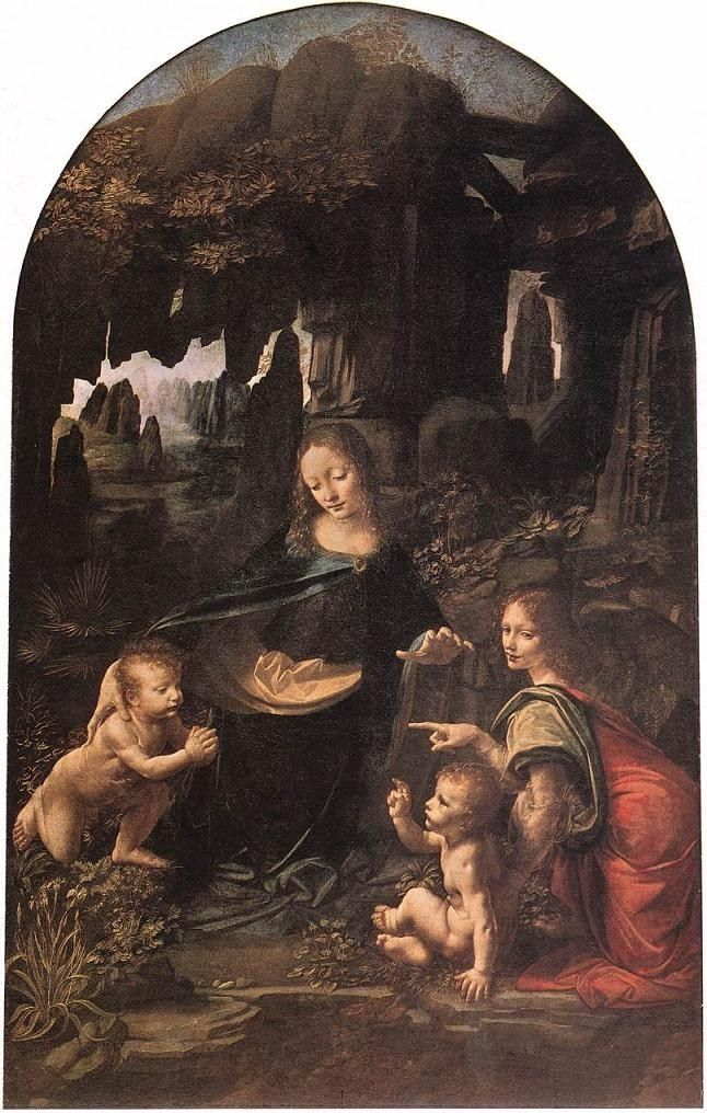 Leonardo da Vinci Virgin of the Rocks