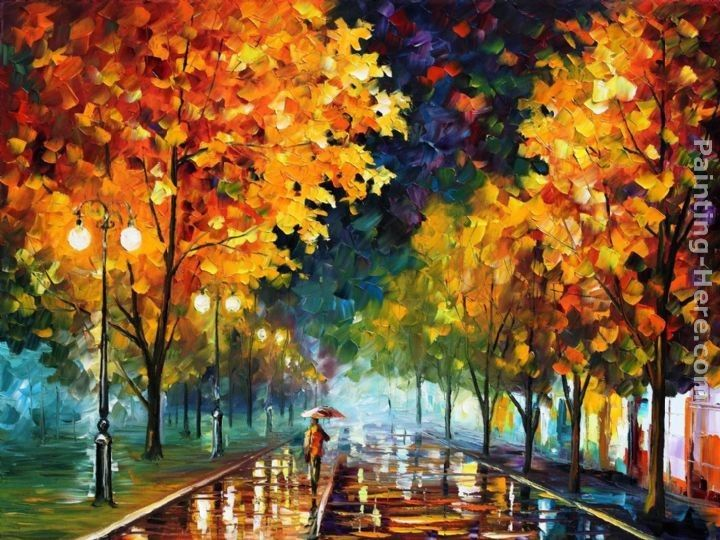 Leonid Afremov NIGHT