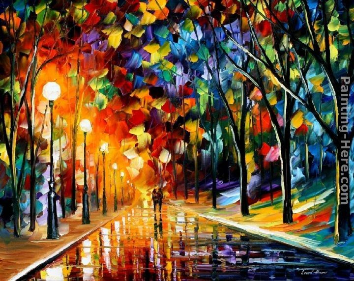 Leonid Afremov ROMANTIC EVENING