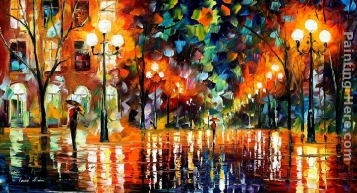 Leonid Afremov THE SPECTRUM FOR HAPPINESS
