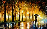 Leonid Afremov BEWITCHED PARK painting