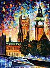 Leonid Afremov BIG BEN painting