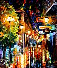 Leonid Afremov CITY painting