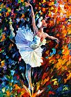 Leonid Afremov DANCE OF THE SOUL painting
