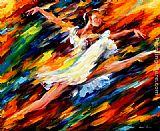 Leonid Afremov ELATION painting