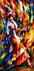 Leonid Afremov FLAMENCO DANCER painting