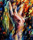 Leonid Afremov LOVE Shower painting