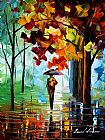 Leonid Afremov MORNING RAIN painting