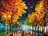 Leonid Afremov NIGHT painting