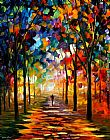 Leonid Afremov PATH painting