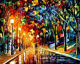 Leonid Afremov ROMANTIC EVENING painting