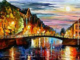 Leonid Afremov ST. PETERSBURG painting