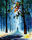 Leonid Afremov path b painting