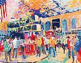 Leroy Neiman American Stock Exchange painting