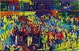 Leroy Neiman Chicago Board of Trade painting