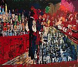 Leroy Neiman Chicago Key Club Bar painting