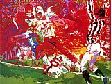 Leroy Neiman Game of the Century, Nebraska Suite painting