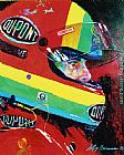 Leroy Neiman Jeff Gordon painting