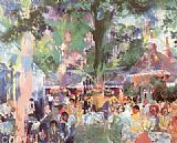 Leroy Neiman Tavern on the Green painting