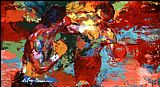 Leroy Neiman rocky 3 ending painting