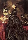 Lord Frederick Leighton Mrs James Guthrie painting