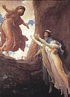 Lord Frederick Leighton Return of Persephone painting