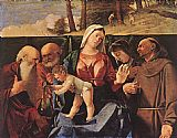 Lorenzo Lotto Madonna and Child with Saints painting