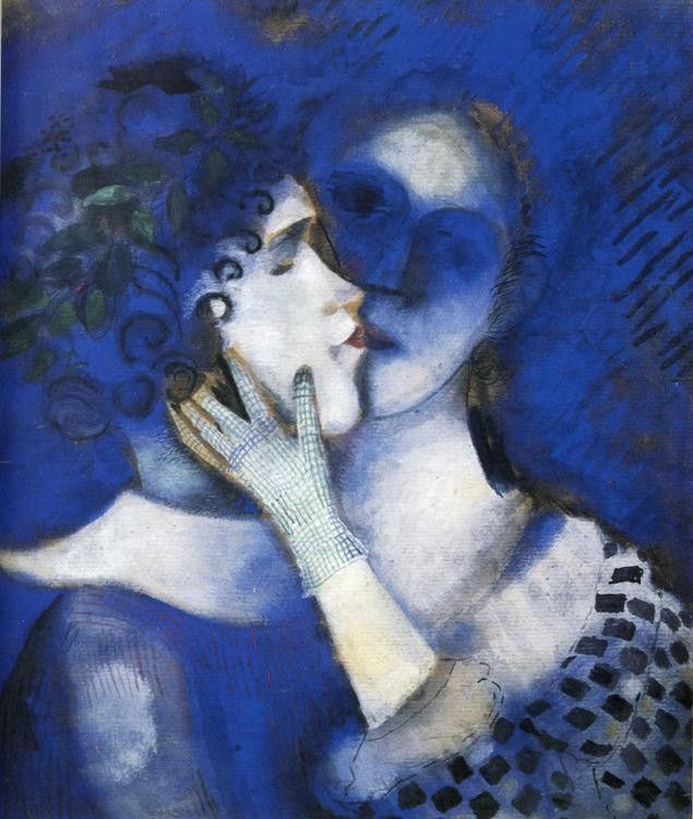 Marc Chagall Blue Lovers