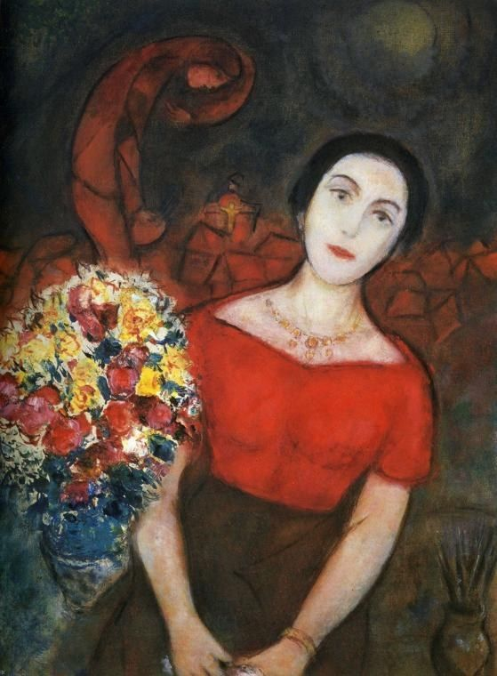 Marc Chagall Portrait of Vava