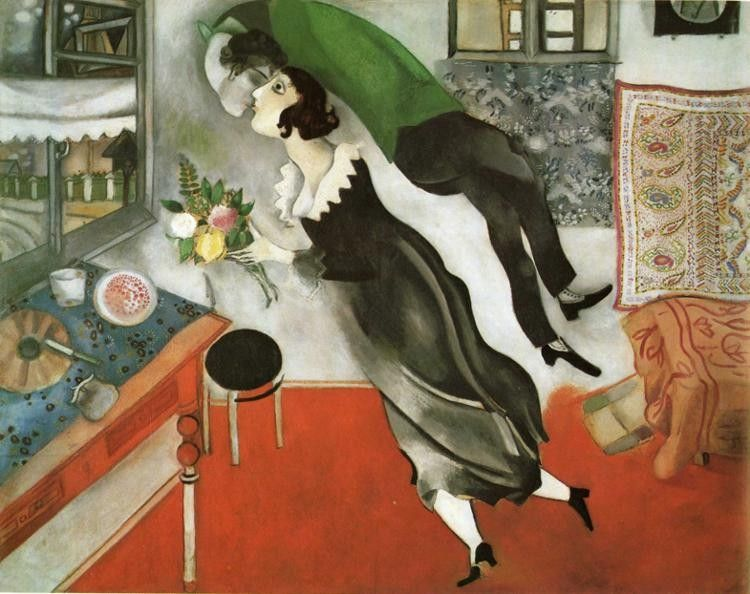 Marc Chagall The Birthday
