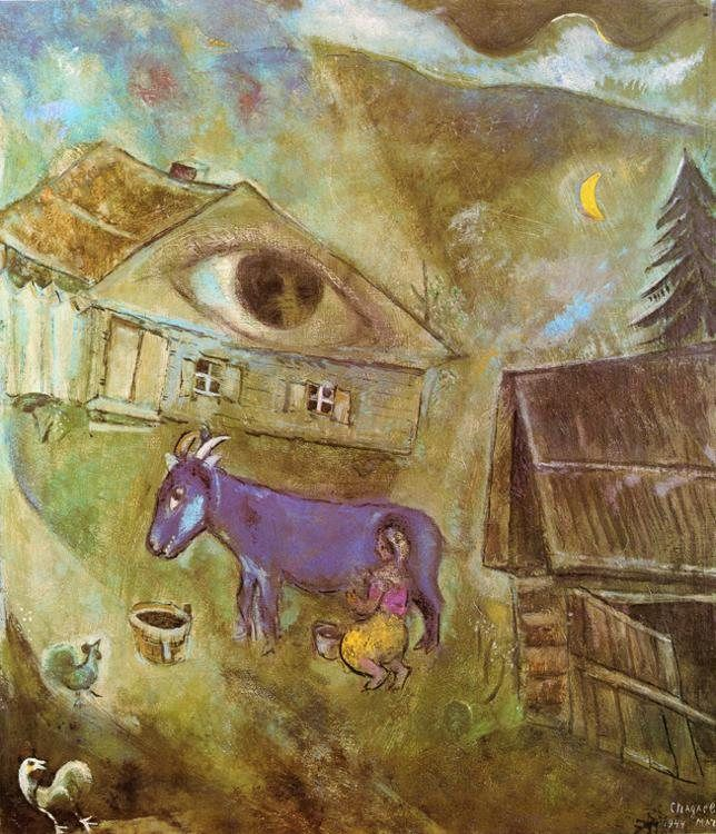 Marc Chagall The House with the Green Eye