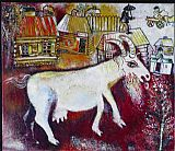 Marc Chagall Memory of My Youth painting