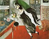 Marc Chagall The Birthday painting
