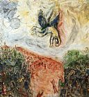 Marc Chagall The Fall of Icarus painting