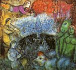 Marc Chagall The Grand Parade painting