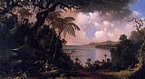 Martin Johnson Heade View from Fern-Tree Walk Jamaica painting