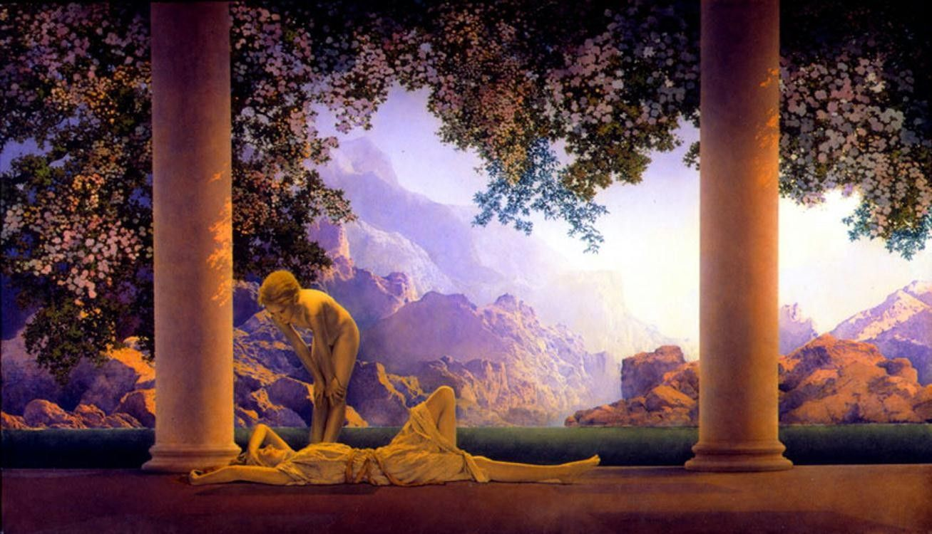Maxfield Parrish daybreak