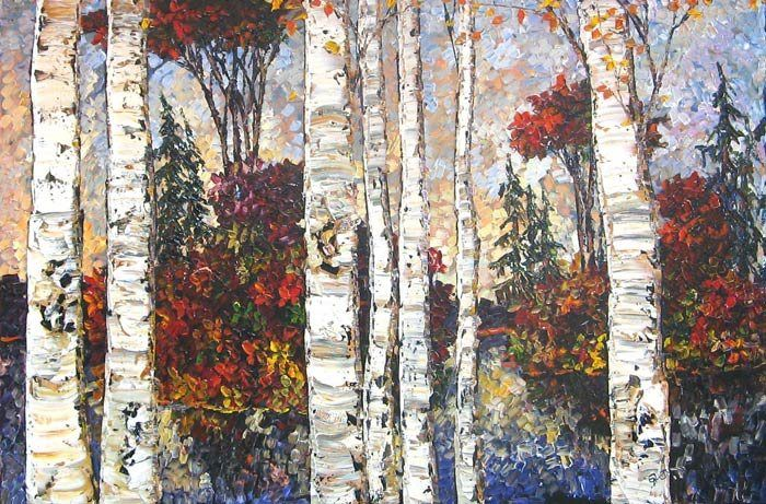 Maya Eventov Lake of Birches II