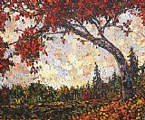 Maya Eventov Autumn Maple painting