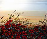 Maya Eventov Beautiful Sunset painting