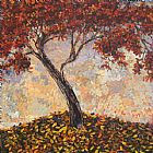 Maya Eventov Crooked Maple painting