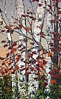 Maya Eventov Maple and Birches painting