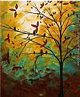 Megan Aroon Duncanson Bird Haven painting