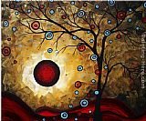Megan Aroon Duncanson Frosted Gold painting
