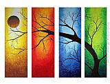 landscape In Living Color painting