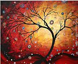 Megan Aroon Duncanson Red Halo painting