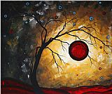 Megan Aroon Duncanson Red Moon painting